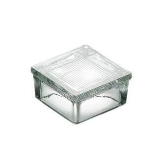 Luksfer pustak szklany podłogowy P 12.60 satynowany La Rochere