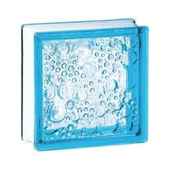 Luksfer pustak szklany 198 Azure Bubble E 60 EI 15 La Rochere