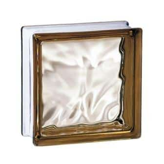 Luksfer pustak szklany 198 Bronze Flemish E 60 EI 15 La Rochere