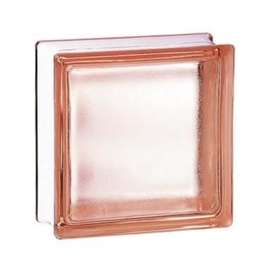 Luksfer pustak szklany 198 Pink Frosted E 60 EI 15 La Rochere