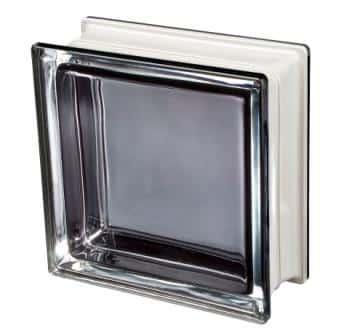Pustak szklany luksfer Q19 Black 30% T Met Seves Design