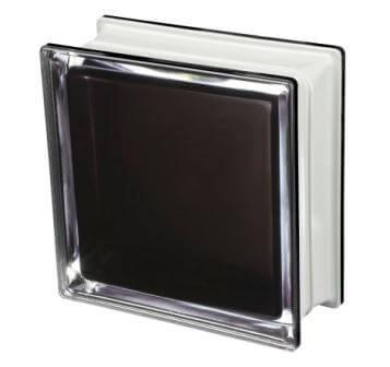 Pustak szklany luksfer Q19 Black 100% T Met Seves Design