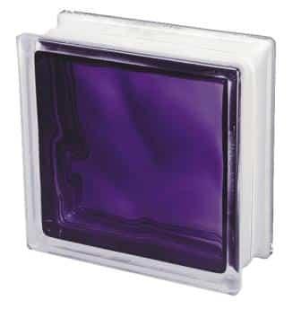 Pustak szklany luksfer 1919/8 Wave Brilly Violet Seves Basic