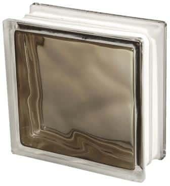 Pustak szklany luksfer 1919/8 Wave Brilly Bronze Seves Basic