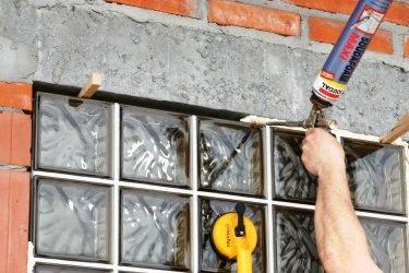 Instrukcja montażu ściany z pustaków szklanych Firmy Glasspol.