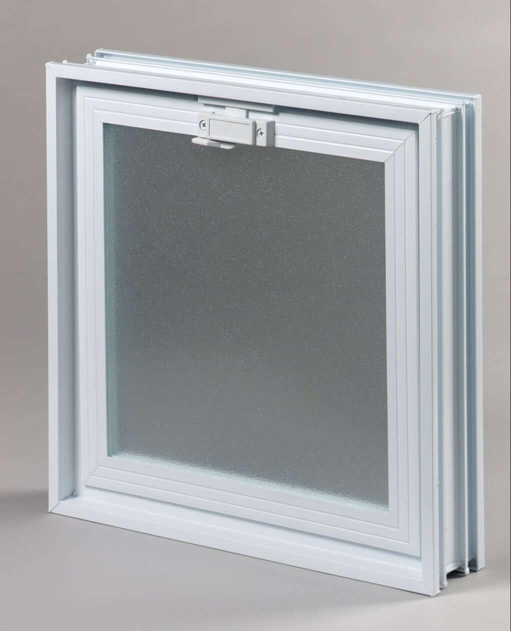 Okno wentylacyjne do luksferów Okienko wentylacyjne (went) 2 x 2 do luksferów