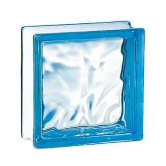Luksfery ogniotrwałe pustak szklany 198 Azure Flemish E 60 EI 15