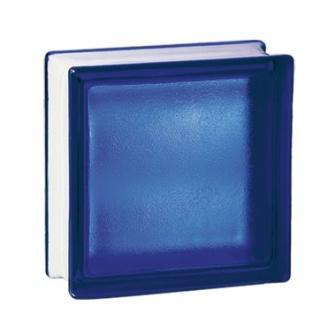 Luksfery pustaki szklane 198 Cobalt Frosted E 60 EI 15