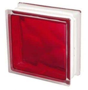 Pustak szklany luksfer 1919/8 Brilly Red Seves Basic