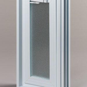 Okno wentylacyjne Went 1/2 do pustaków szklanych luksferów