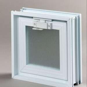 Okno wentylacyjne Went 1/1 do 24/24 do pustaków szklanych 24 x 24 luksfer