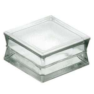 P.19.100 satynowany 1 stronnie podłogowy pustak szklany luksfer