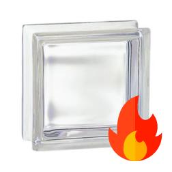 198 Transparent EI15 E60 (gładki) 19x19x8cm pustak szklany luksfer