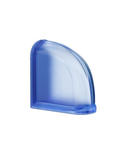 Mini Blueberry Curved End pustak szklany luksfer