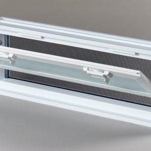 Okno wentylacyjne Went 3/1 do pustaków szklanych luksferów