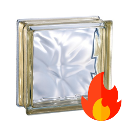 198 Golden Flemish EI15 E60 pustak szklany luksfer