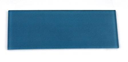 Błękit pruski płytka szklana do pustaków szklanych luksferów