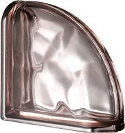Ter Curved Rosa O Met pustak szklany luksfer