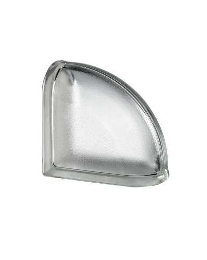 Mini Arctic Curved End pustak szklany luksfer