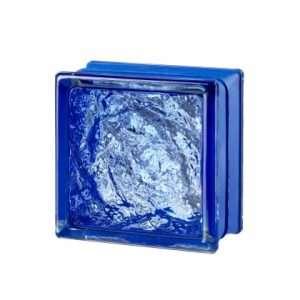 Mini Sophisticated Blue pustak szklany luksfer