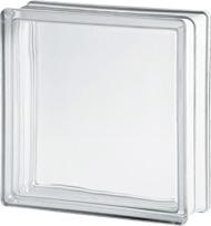 2424/8 Clearview gładki czysty pustak szklany luksfer