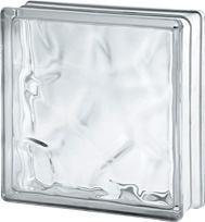 2424/8 Wave Nubio (chmurka / fala) 24x24x8 cm pustak szklany luksfer