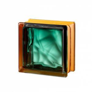 Mini Vegan Emerald  pustak szklany luksfer