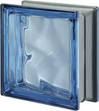 Q 19 Blue O Met pustak szklany luksfer