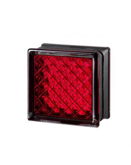 Mini Daredevil Red pustak szklany luksfer