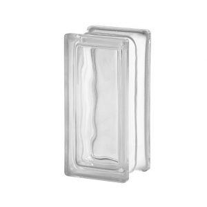 2411/8 Wave Nubio (chmurka / fala) 24x11x8 cm pustak szklany luksfer