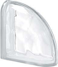 Ter Curved Neutro O pustak szklany luksfer