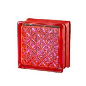 Mini Romantic Ruby pustak szklany luksfer