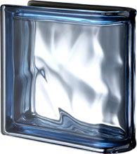 Ter Lineare Blue O Met pustak szklany luksfer