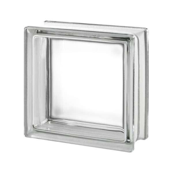 1919/10 Clearview (czysty / gładki) 19 x 19 x 10 cm pustak szklany luksfer Seves Basic