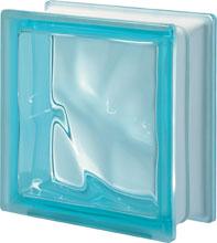 Q 19 Aquamarina O pustak szklany luksfer