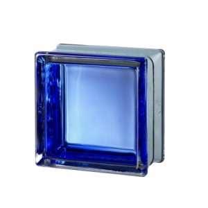 Mini Futuristic Blue pustak szklany luksfer
