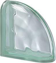 Ter Curved Verde O pustak szklany luksfer