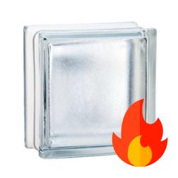 198 Clear Frosted EI15 E60 pustak szklany luksfer (matowy) 19x19x8 cm