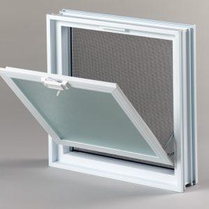 Okno wentylacyjne Went 2/2 do pustakó szklanych luksfer
