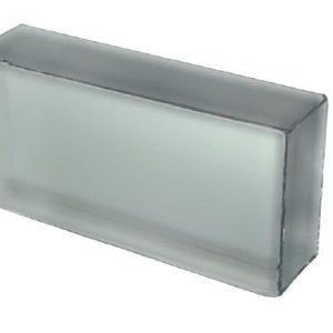 Cegła szklana Crystal Collection White 20 x 10 x 5