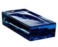 cegła szklana VETROPIENO BLUE RETTANGOLARE